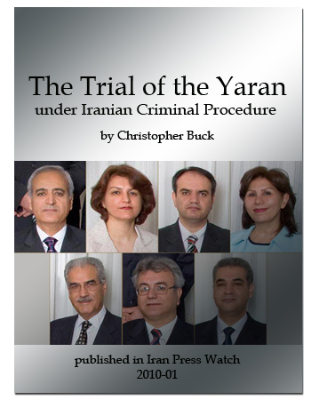 book trial of the yaran