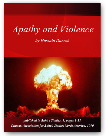 book violence and apathy
