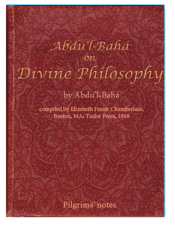book abdul baha divine philosophy