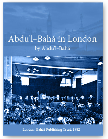 book abdul baha in london