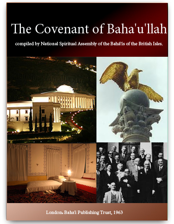 book covenant of baha'ullah