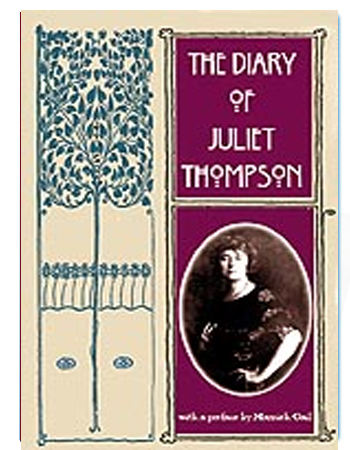 book Diary of Juliet Thompson