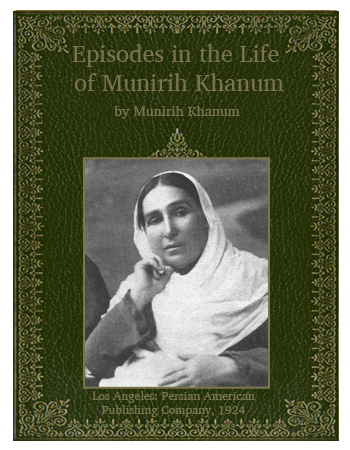 book episodes of munirih khanum