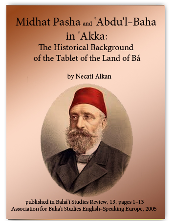 book medhat pasha and abdul baha