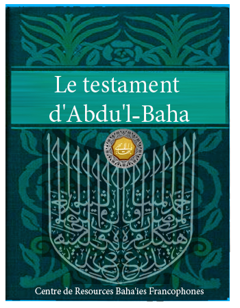 book testament abdul baha