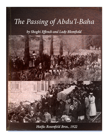 book the passing of abdul baha