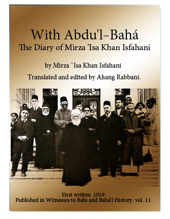 book with abdul baha 1919