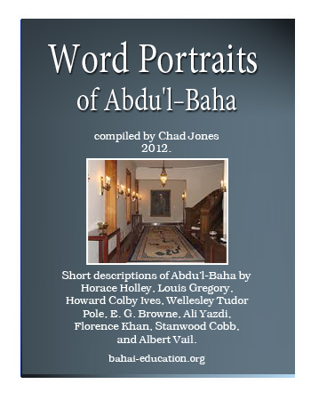 book world portait abdul baha