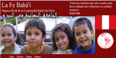site bahai péru