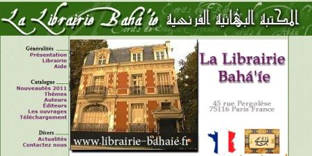 site librairie bahai france