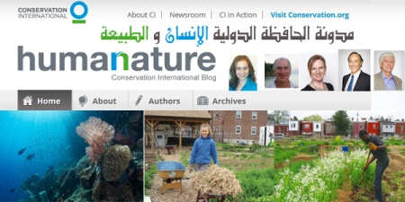 blog conservation international