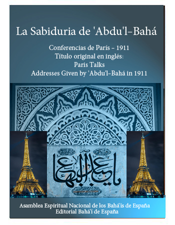 book abdul baha paris talk esp