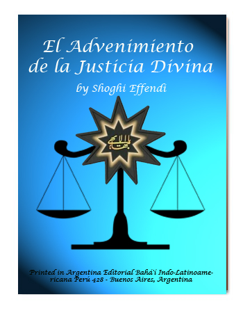 book advenimient justice divine esp