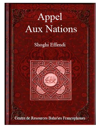 book appel aux nations fr