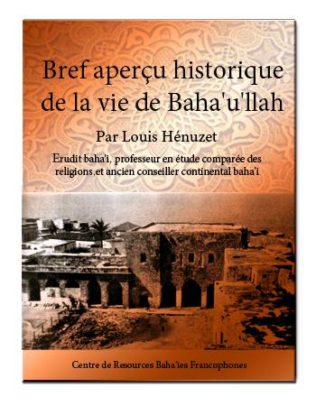 book bref aperçu bahau'lah