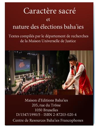 book caractère sacré election baha'i fr