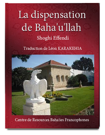 book dispensation de baha'ullah