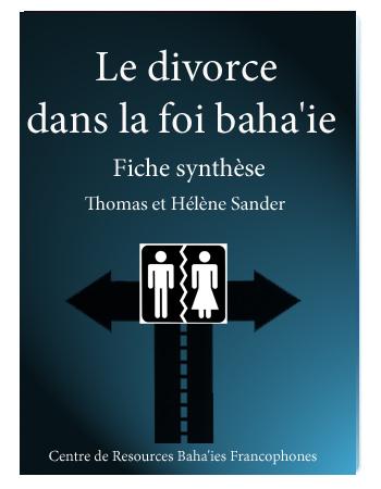 book divorce dans la foi baha'i