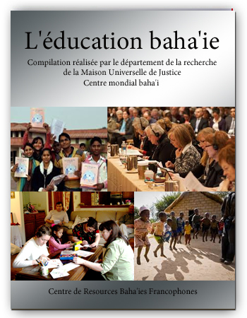 book EDUCATION BAHAI fr