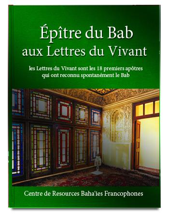 book epitre du bab lettres du vivant