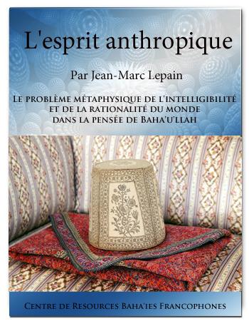 book esprit antropique