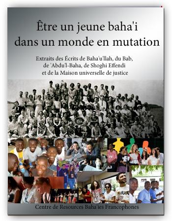book etre jeune Baha'i monde mutation fr