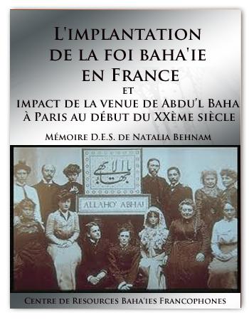 book implantation baha'i france fr