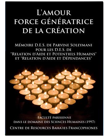 book l'amour force créatrice fr