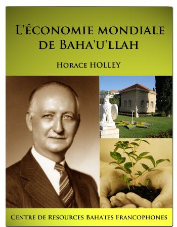 book l'économie mondiale de baha'ullah
