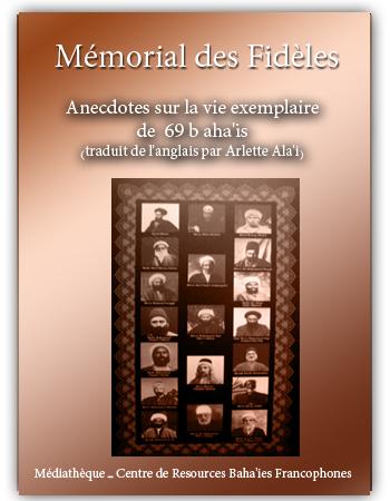 book mémorial des fidèles