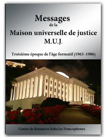 book messages uhj 1963-1986