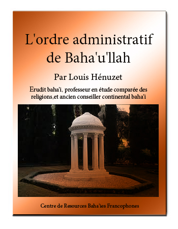 book ordre administratif baha'i