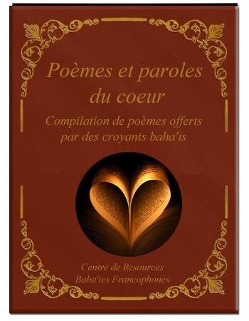 book poèmes et parole du coeur