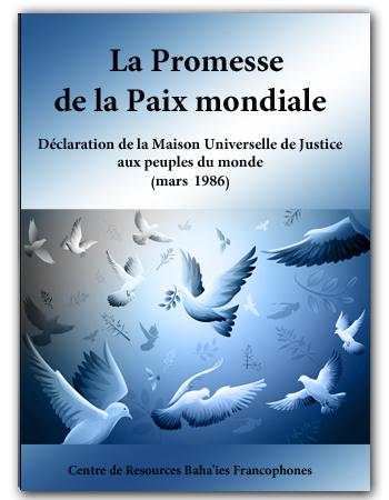book promesse paix mondiale