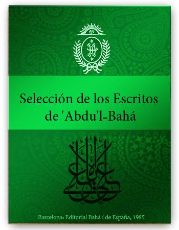 book seleccion de los abdul baha