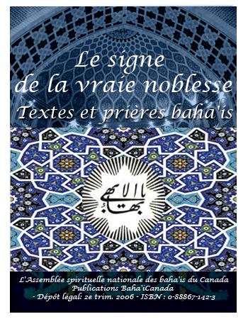 book signe de la vrai noblesse