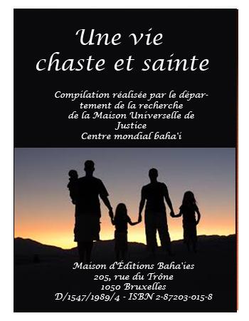 book vie chaste