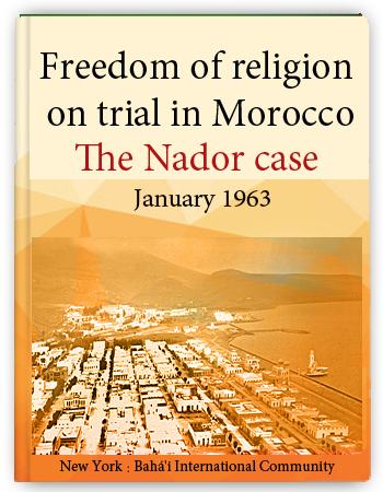 book maroc nador case 1963
